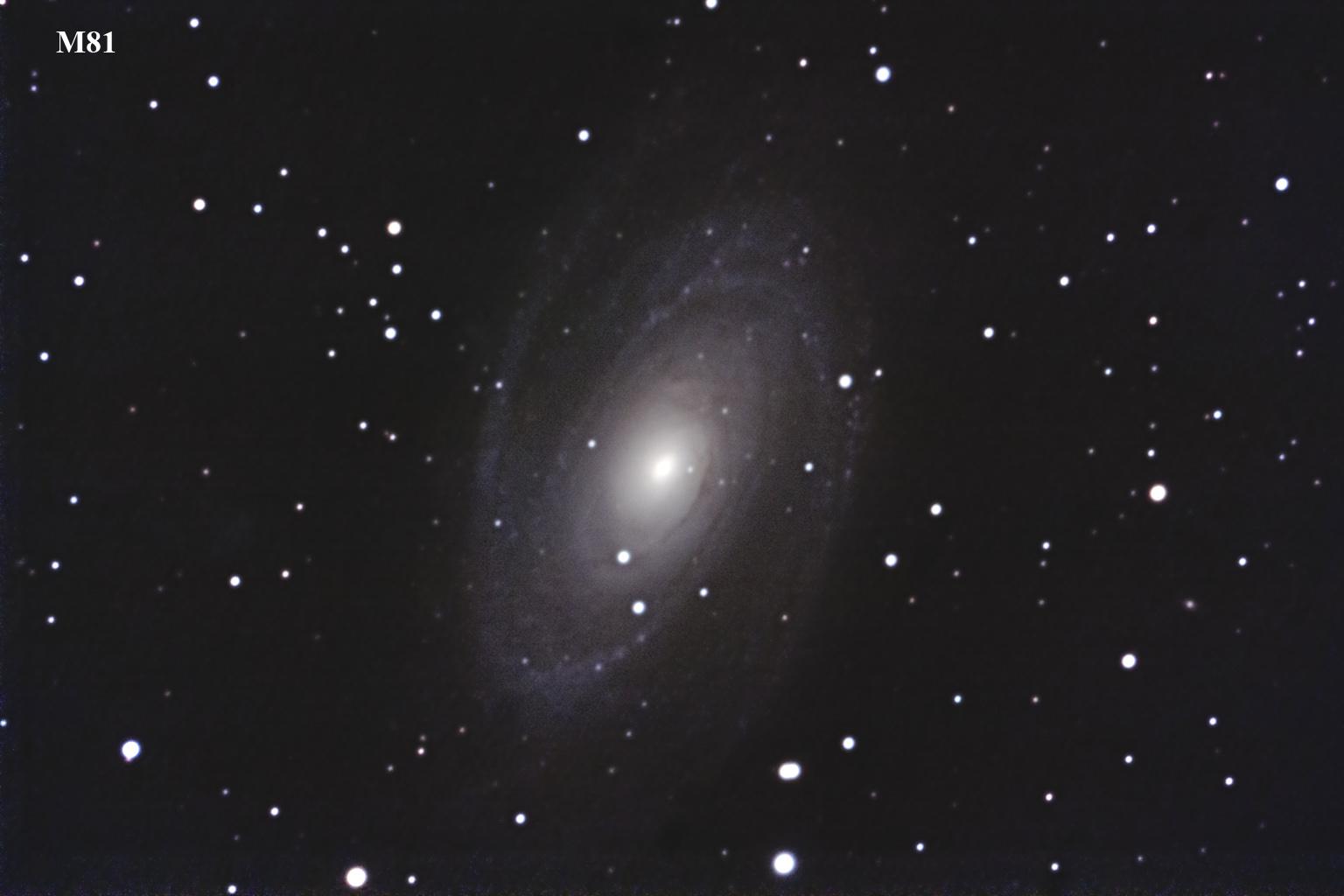 Galaxia de Bode M81