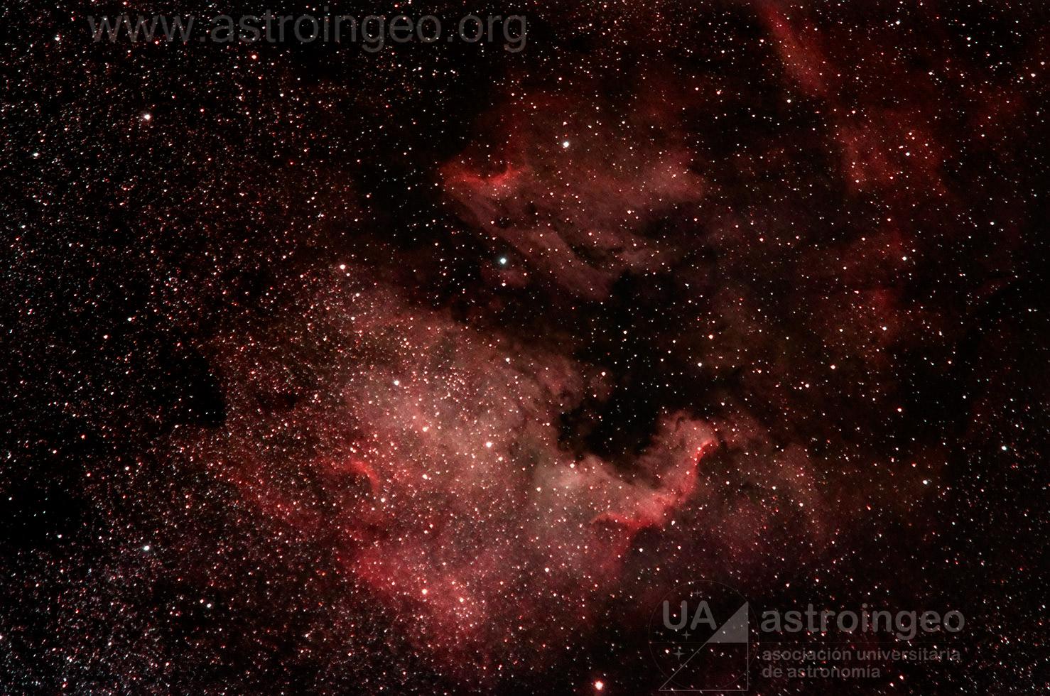 Nebulosa Pelicano y Norte